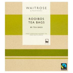 Waitrose 80 rooibos tea bags caffeine free