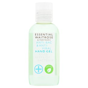 essential Waitrose Sensitive Hand Gel