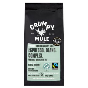 Grumpy Mule Fair Trade Organic Espresso coffee
