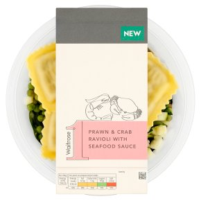 Waitrose 1 Prawn & Crab Ravioli