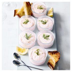 Waitrose poached salmon mousse