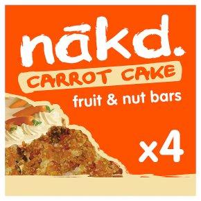 Nakd Carrot Cake Wholefood Bars