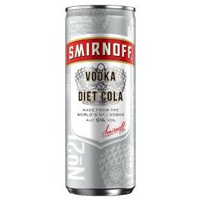 Smirnoff & Diet Cola