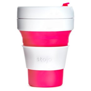 Stojo Collapsible Cup Pink