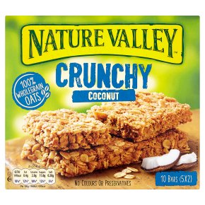 Nature Valley Crunchy Coconut Cereal Bars