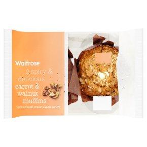 Waitrose Spiced Carrot & Walnut Muffins