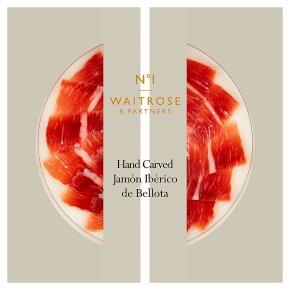 Waitrose 1 hand carved jamon iberico de bellota