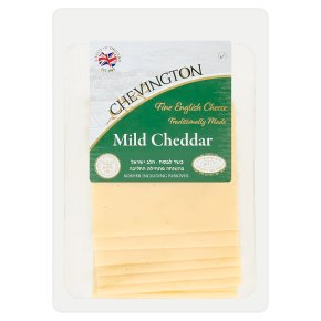 Chevington sliced mild cheddar