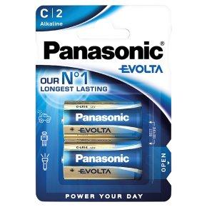Panasonic evolta alkaline C 1.5V