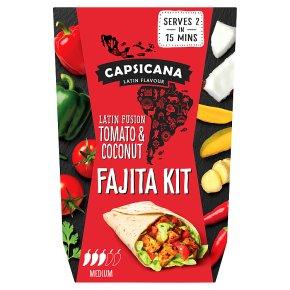 Capsicana Tomato & Coconut Fajita Kit