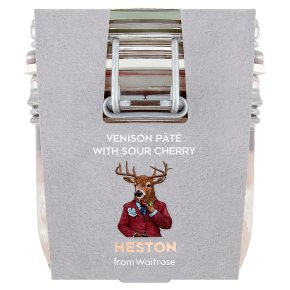 Heston from Waitrose Venison Pâté with Sour Cherry