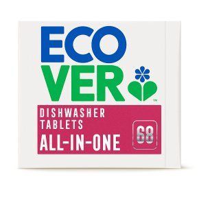 Ecover 68 Dishwasher Tablets All-in-One
