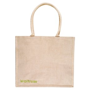 Waitrose juco shopping bag