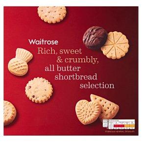 Waitrose Shortbread Selection