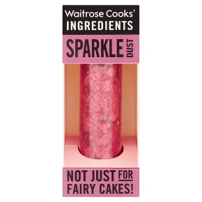 Waitrose Cooks' Homebaking red sparkle dust