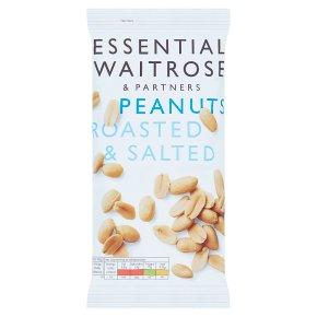essential Waitrose Large Peanuts Roasted & Salted