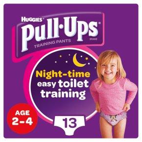 Huggies Pull Ups Night 2-4 Years