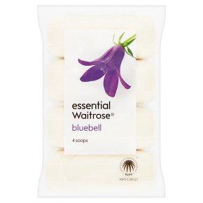 essential Waitrose Bluebell Soap Bars