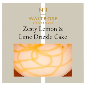 Waitrose 1 Lemon & Lime Drizzle Cake