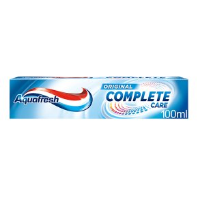 Aquafresh t/paste complete care