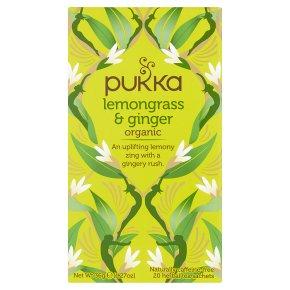 Pukka lemongrass & ginger 20 sachets