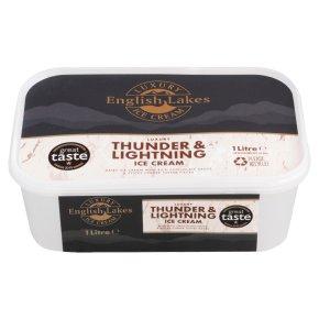 English Lakes thunder & lightening ice cream