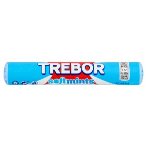 Trebor Softmints spearmint mints roll