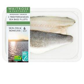 Waitrose 2 Sea Bass Fillets