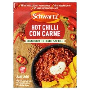 Schwartz hot chilli con carne mix