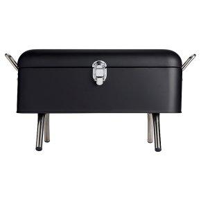 Waitrose Home Retro Black Barbeque