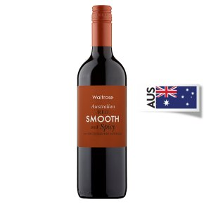 Waitrose Smooth and Spicy, Australian, Red Wine