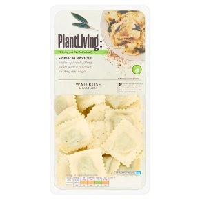 Waitrose Vegan Spinach Ravioli