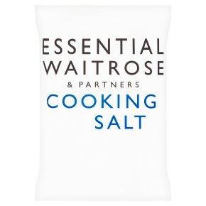 essential Waitrose cooking salt