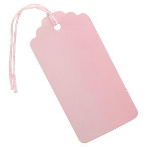 Waitrose Dark Pink tags