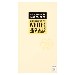 Waitrose Cook's Ingredients white chocolate