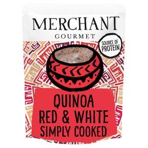 Merchant Gourmet red & white quinoa