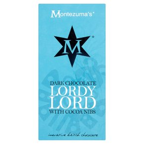 Montezuma's Dark Chocolate Lordy Lord