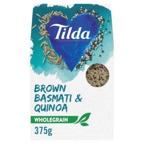 Tilda Brown Basmati & Quinoa Wholegrain