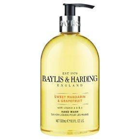 Baylis & Harding mandarin & grapefruit hand wash