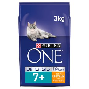Purina ONE Senior 7+ Dry Cat Food Chicken