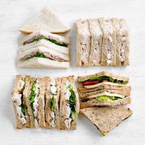 Mixed Sandwich Platter, 24 pieces