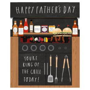Pop-up BBQ Father's Day Card