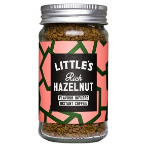 Little's instant coffee hazelnut flavour