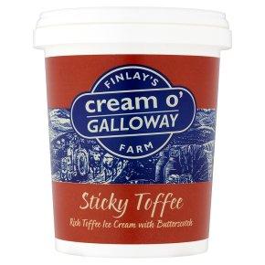 Cream o'Galloway sticky toffee ice cream