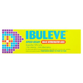 Ibuleve speed relief max strength gel