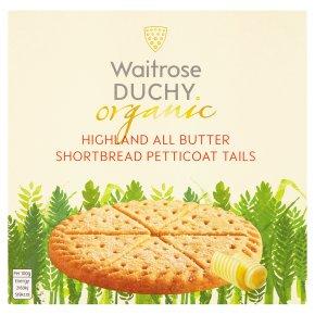 Waitrose Duchy Organic all butter shortbread petticoat tails