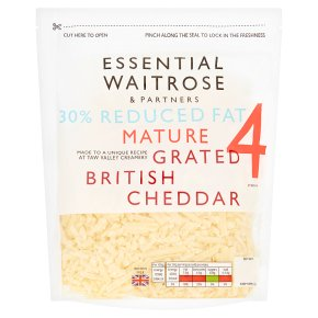 Essential Lighter Cheese Grated Strength 4