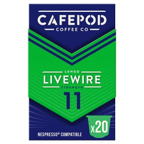 CafePod Coffee Co. Nespresso Capsules Livewire