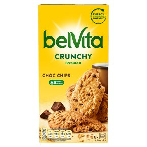 Belvita Breakfast Biscuits Crunchy Choc Chips
