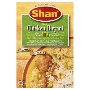 Shan mix malay chicken biryani